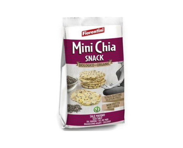 Tortitas Maiz Chia. Snack BIO/ECO de maíz y chía, crujiente y BIO. Sin gluten, vegano, sin lactosa, etc.