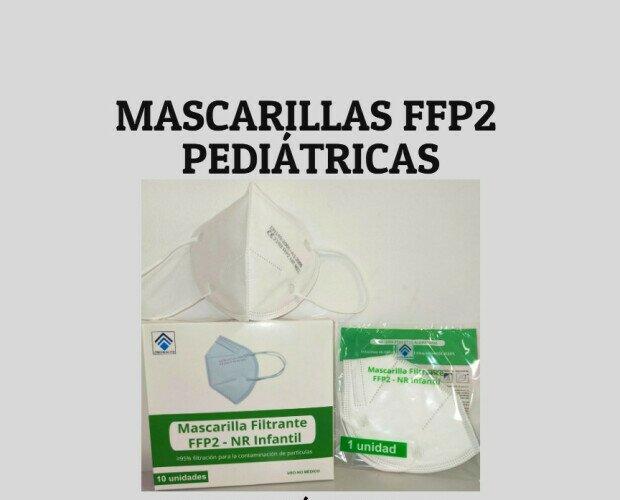 Mascarillas FFP2 pediátricas. Ahora más que nunca