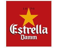 Cervezas. Estrella Damm