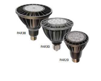 Gama PAR. Ideales para una iluminación de presición