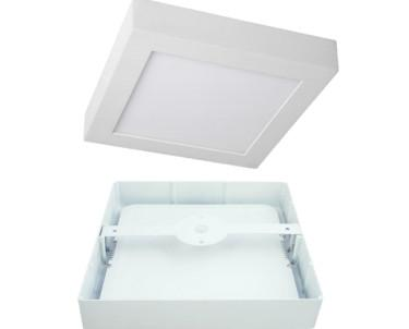 Downlight cuadrado. Disponible con kit de emergencia de 1 hora