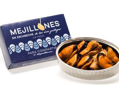 Mejillones. Delicioso producto