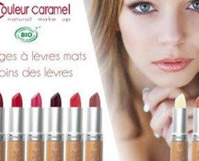 Maquillaje Bio. Couleur Caramel- Cosmética Francesa