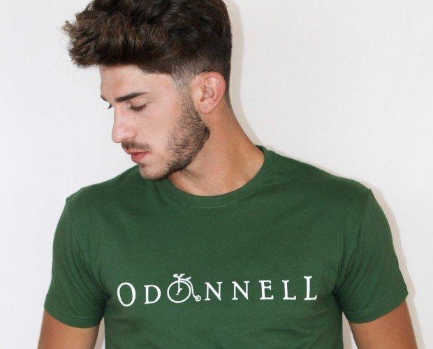 camiseta verde. camiseta verde algodón 100%