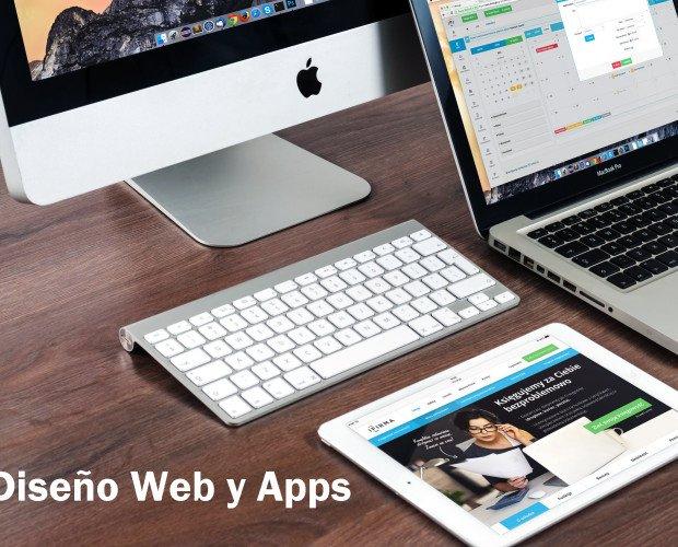 Diseño web. Diseño Web, tiendas on line y apps.