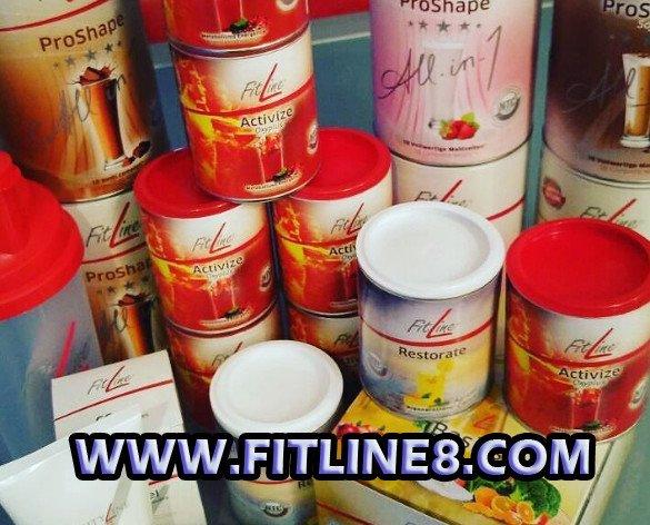 Fitline Surtido Prod. Varios productos especificos para cada funcion