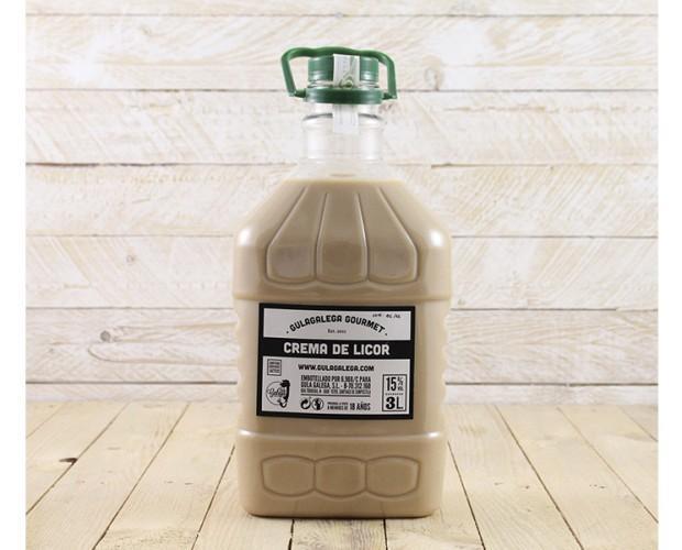 Crema Orujo PET 3L. Garrafa de Crema de Orujo. 15% vol. 3 litros
