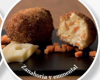 Zanahoria emmental. Platos saludables y gustosos