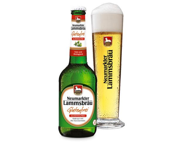 Cerveza sin gluten, sin alcohol. Cerveza Bio Lammsbräu sin gluten y sin alcohol