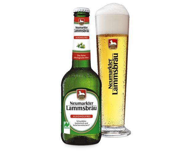 Cerveza sin alcohol. Cerveza Lammsbräu Bio sin alcohol