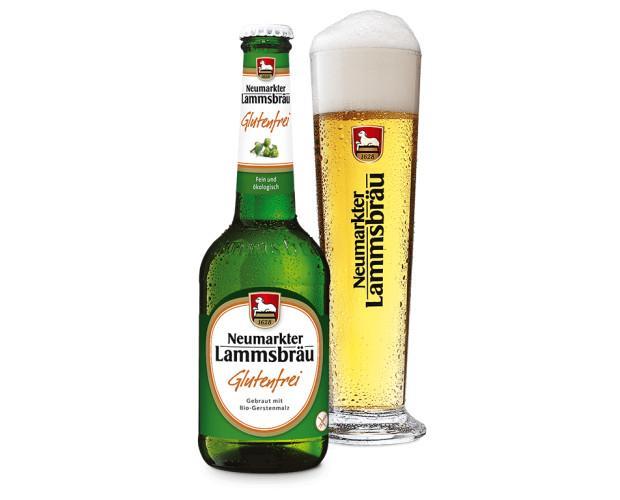 Cerveza Ecológica sin Gluten.Cerveza Lammsbräu Bio sin gluten