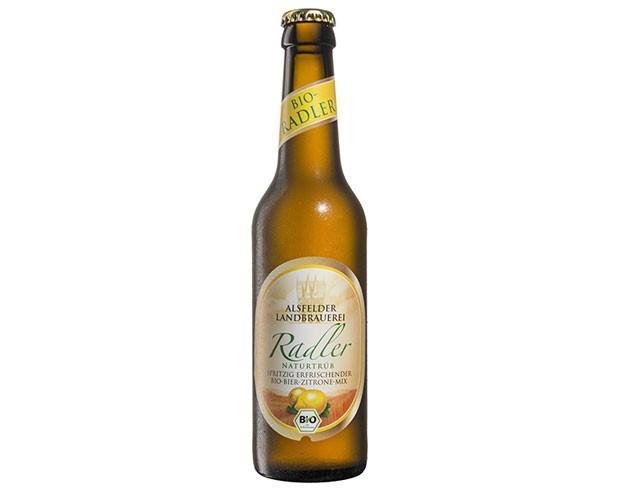 Cerveza Bio Radler. Cerveza ecológica con limonada