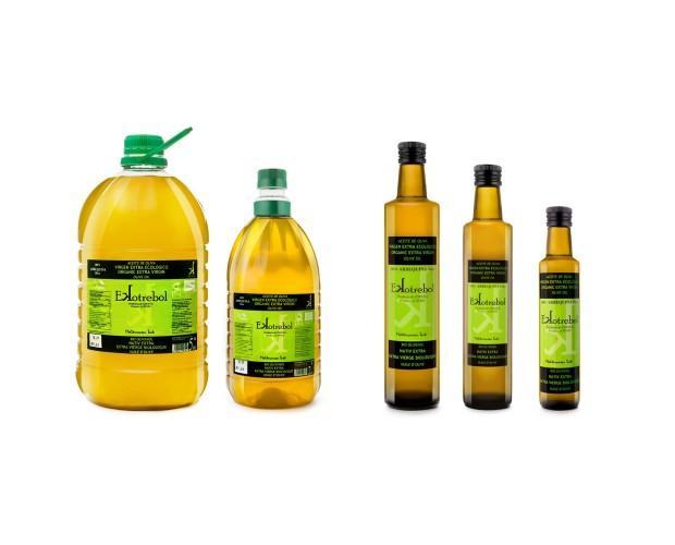 Aceite Ekotrebol. Aceite de oliva Extra Virgen Ekotrebol Bio y vegano