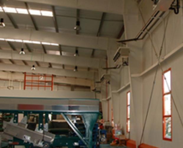 frío industrial. instaladores de frío industrial