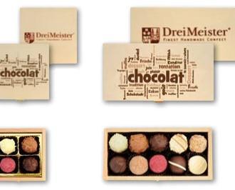 Chocolates de Cortesía.Sorprende dulcemente a tus clientes. Producto personalizable