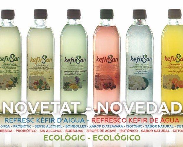 Bebidas naturales. 100% ecológico