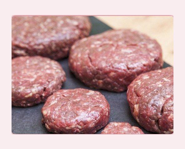 Burguer Angus Nacional. Hamburguesa de carne picada, de las mejores piezas de nuestra hembras