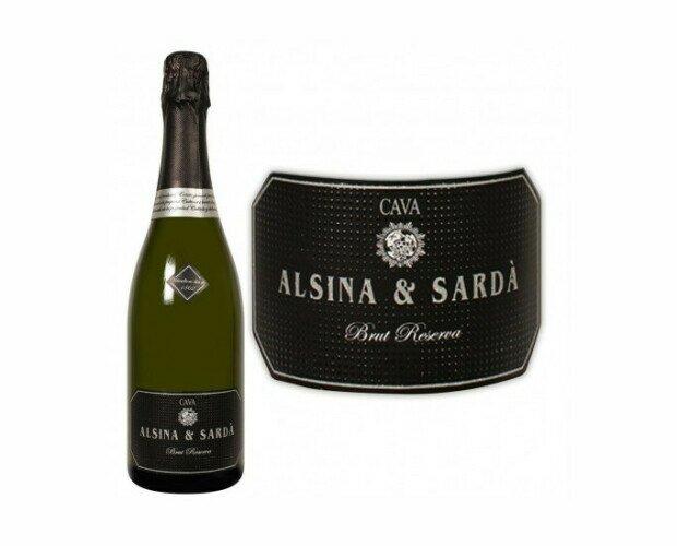 Cava Alsina Sarda. Un vino espumoso de Cava a base de racimos de xarel·lo, parellada y macabeo