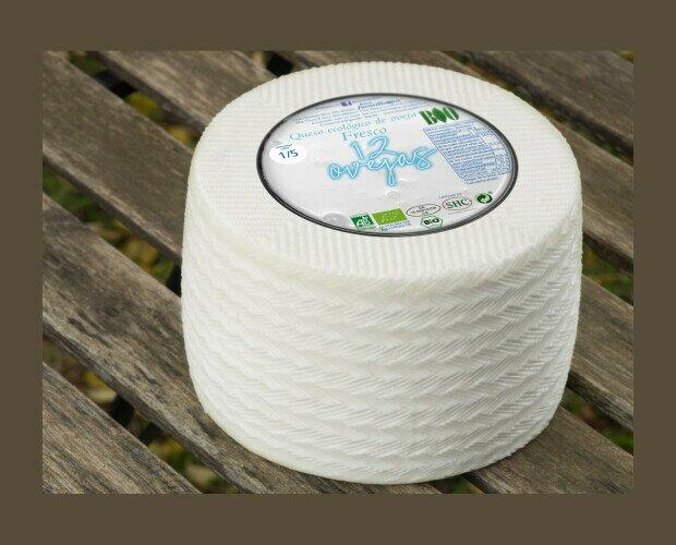12 ovejas fresco. Elaborado con leche pasteurizada de oveja ecológica y extracto de cuajo natural