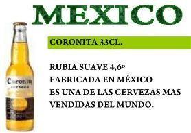 Cervezas importadas. De todos los países, todos los sabores.