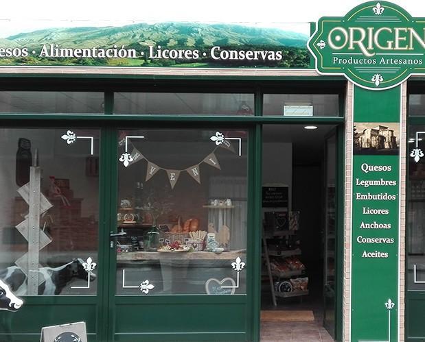 Tienda Física. Venta de productos asturianos
