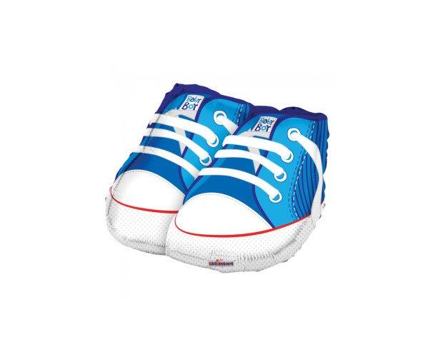 Globo de foil figura. Temática zapatos de niños