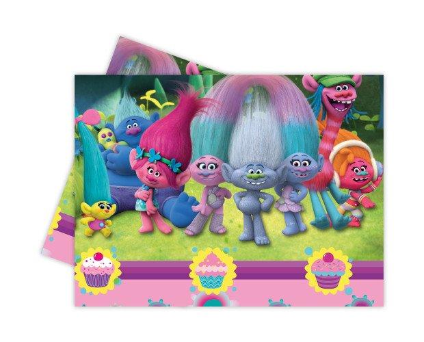 Manteles para fiestas infantiles. Colección Trolls