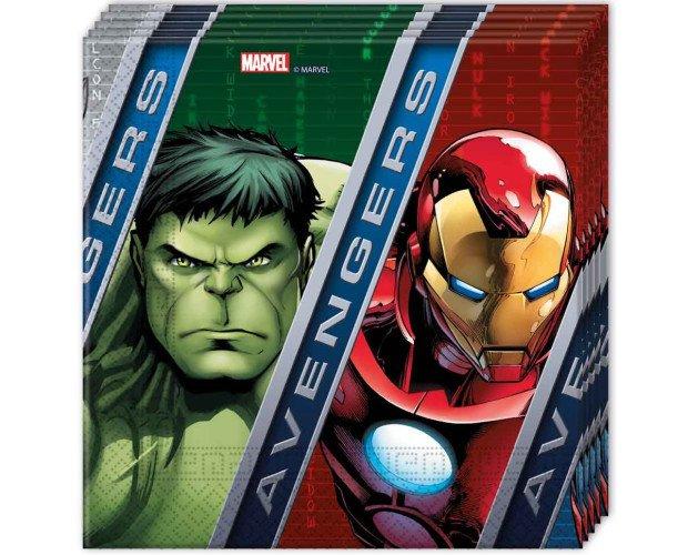 Servilletas Desechables.Colección Marvel