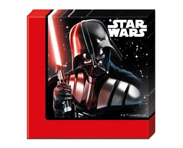Servilletas de papel de 2 capas. Temárica Star Wars