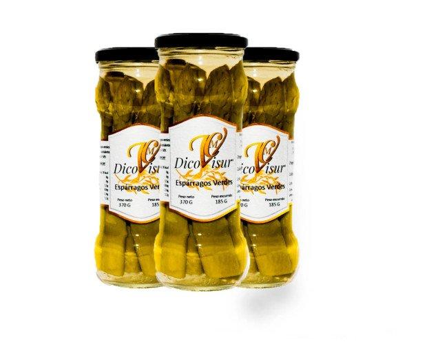 Conserva de Esparragos. Formato estupendo para degustar con intensidad la textura, el aroma y el sabor