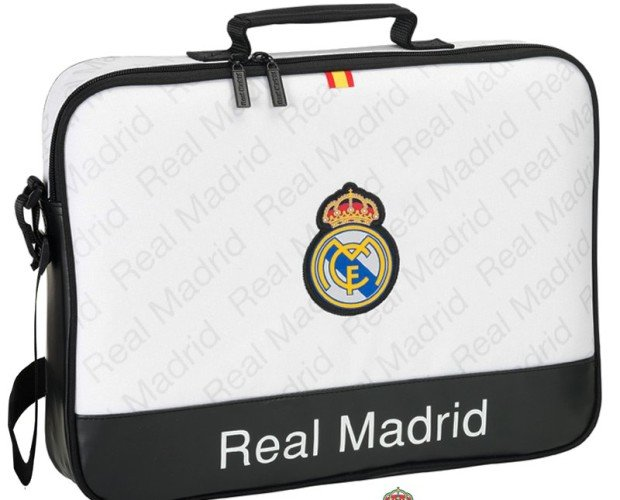 Maletin Ordenador Portatil. Real Madrid CF