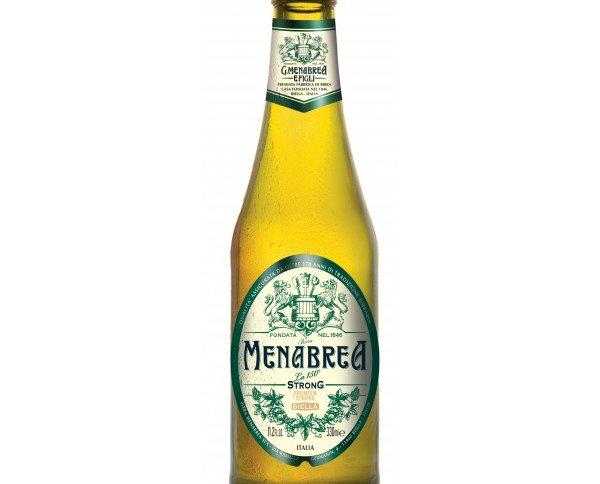 Cerveza Menabrea.