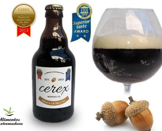 CIbérica de Bellota. Cerveza única en el mundo echa con Bellota