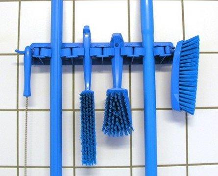 Utensilios limpieza. Codificación por colores y gran resistencia y durabiidad