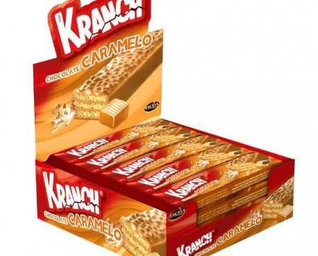 Chocolatina Krunch Lacasa. Mayorista de chocolates