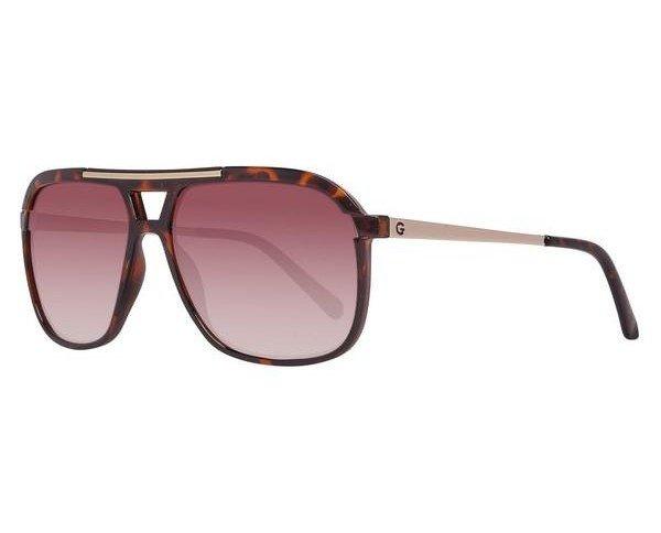 Gafas de Sol Hombre Guess. Metal Acetato, color marrón con filtro solar
