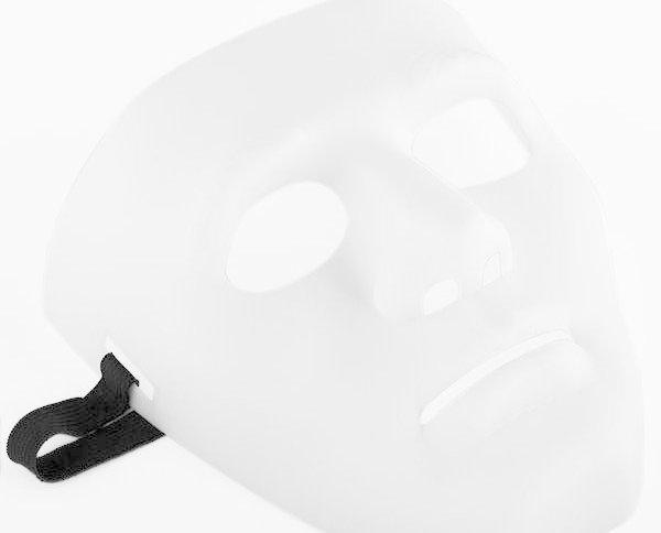 Máscara Anonymous Halloween. Compra regalos originales al por mayo