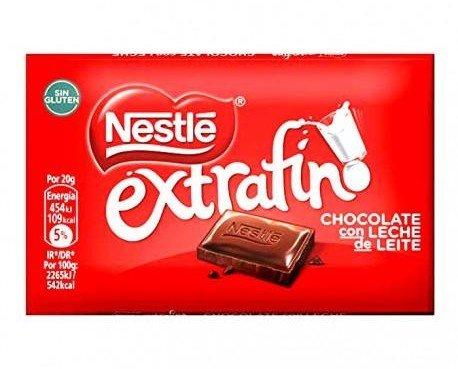 Chocolate Nestle Extrafino. Tenemos lo mejor del mercado de chocolates