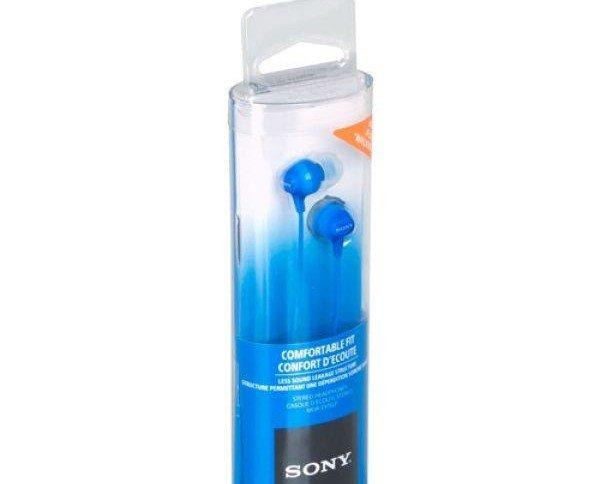 Auriculares Sony. Sonido estéreo diafragma de tipo cúpula