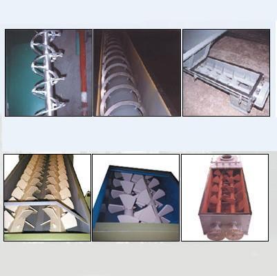 Mezcladoras. Variedad de maquinaria agroindustrial