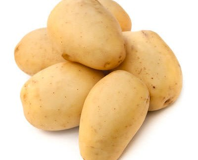 Patata Lavada. Variedad Monalisa y se presenta lavada o limpia de tierra