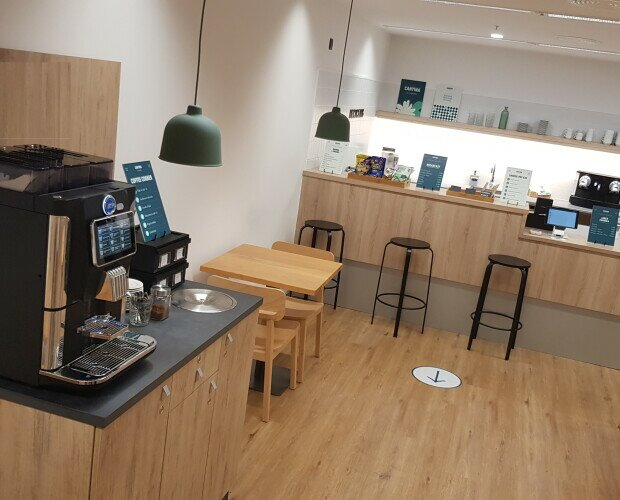 Coworking. Cafeteras automáticas para Coworking