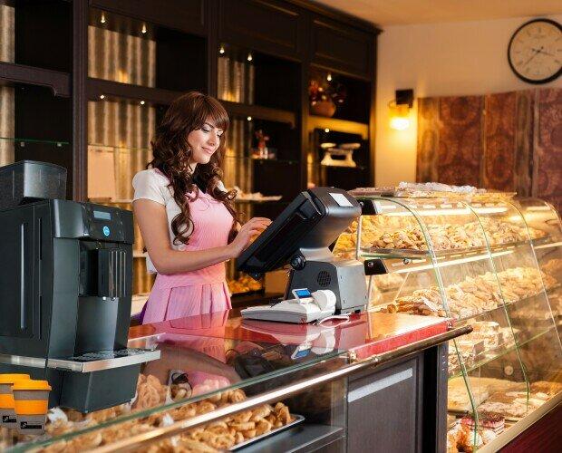 Panaderías. Máquinas de café para panaderías, pastelerías, etc.
