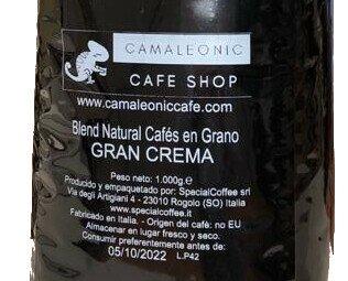 Café Camaleonic. Disponemos de nuestro propio café, blend de agradable sabor y con cuerpo.