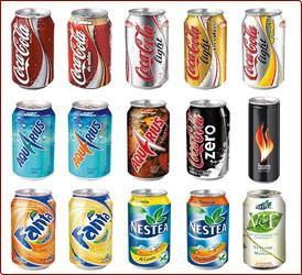 Refrescos. Contamos con toda la línea de bebidas Coca-Cola