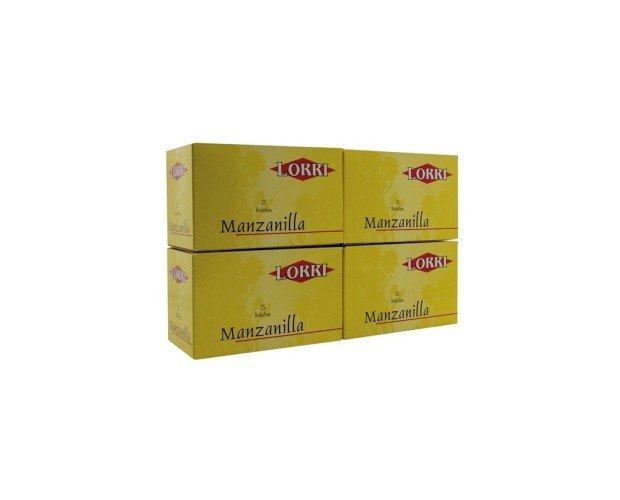 Manzanilla. 25 sobres de esta hierba perenne