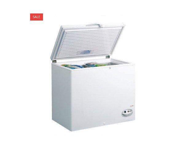 Arcón Congelador THC 420 LC. No cuenta con compartimentos para separar alimentos