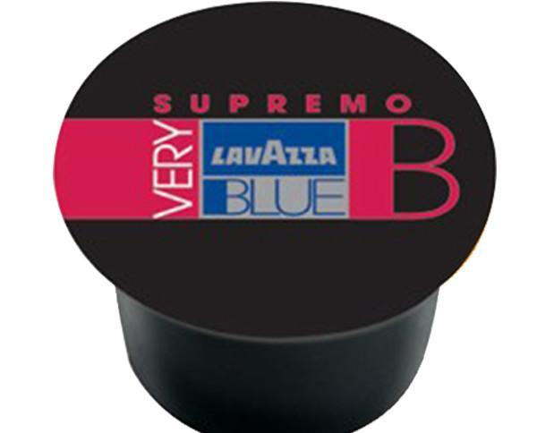 Lavazza very b supremo. Hecho de los mejores granos de café indio y brasileño