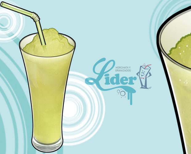 Granizado de limón. Los granizados LÍDER están elaborados con productos naturales que le ofrecen una gran calidad. Se caracterizan por una textura suave y refrescante, ideales para los meses más calurosos!