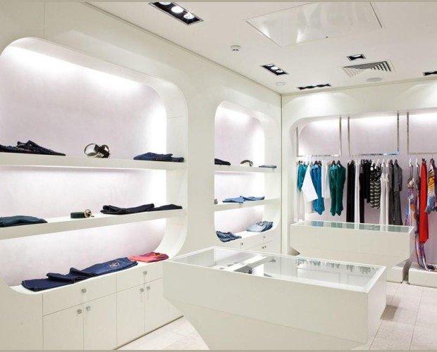 Decoración de tiendas. Diseños modernos